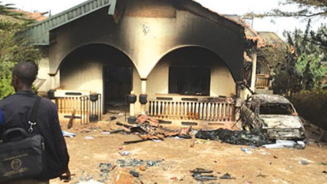 3 Houses Set Ablaze By Angry Villagers Over Killings In Imo