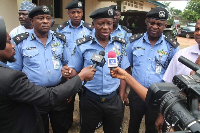 Cell break - Abia Police Goes After 9 Fleeing Suspects