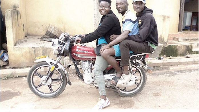 Ebonyi Female Undergraduate Turns Okada Rider