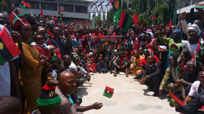 IPOB Reacts To Attack On Female Members In Anambra