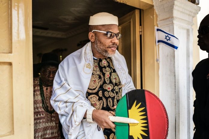 End SARS: Enugu Must Not Be Touched – Nnamdi Kanu Warns