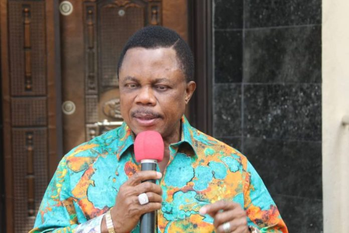 Obiano Assures Completion Of St Peter's University Achina-Oneh-Road