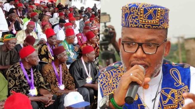 IPOB Won't Recognise Obiozor As Ohanaeze President – Kanu