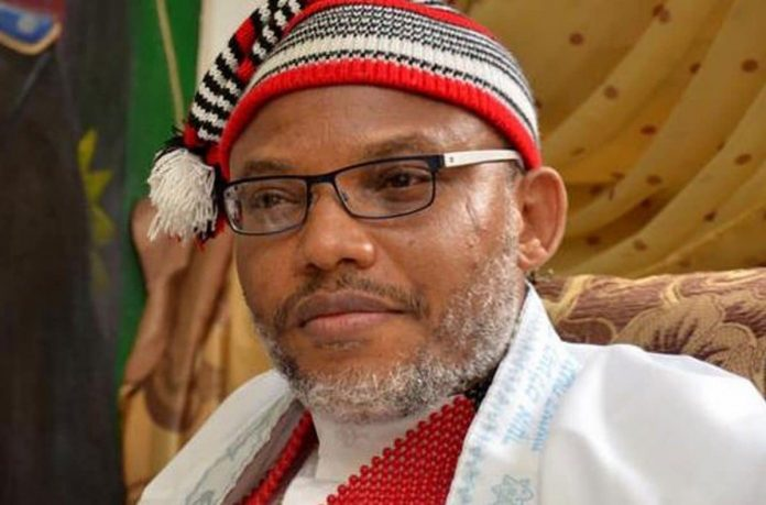 Kanu Reacts To Call For His Repatriation, Accuses DSS Of Blackmail