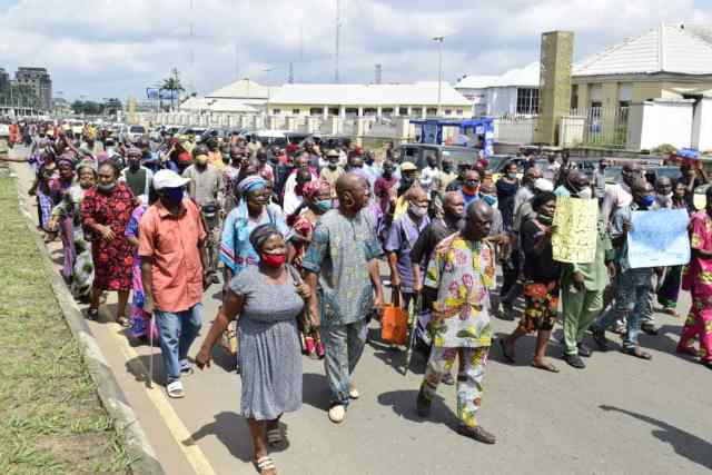 Pension Arrears - Four Retirees Slump During Protest In Imo