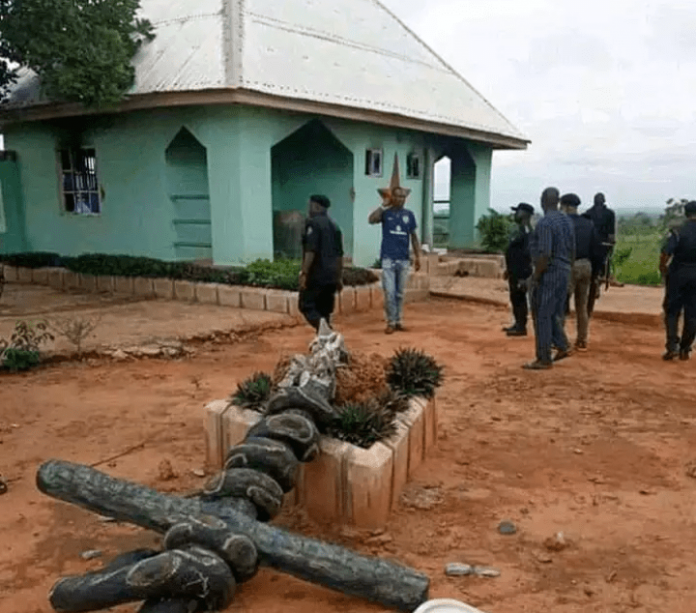 The Founder Of Church Of Satan Arrested In Abia State