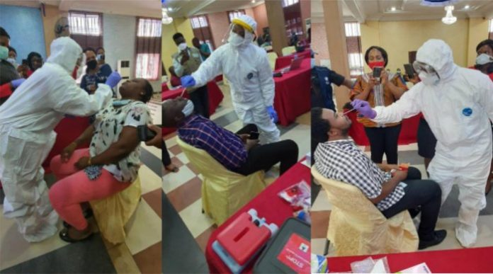 WHO supports Anambra State to boost COVID-19 testing capacity