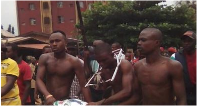 3 Stripped And Paraded In Anambra Over Motorcycle Theft