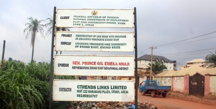 Abandoned FG Projects Litter Enugu Communities