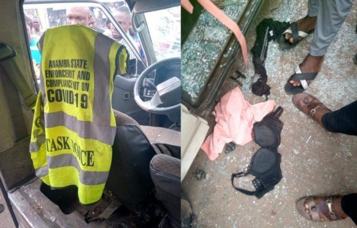 Anambra COVID-19 Taskforce Members Rape A Girl Inside A Bus