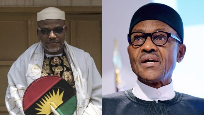 Buhari Told To Demand Kanu's Extradition From UK, Israel