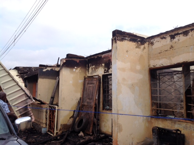Ebonyi - Man Burns Down Daughter In-Law's House