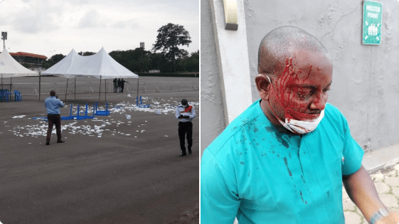 Enugu NMA Election Ends In Violence, Ballot Papers Torn