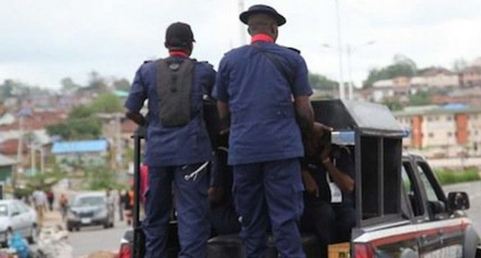 NSCDC Parades Suspects Involved In Looting Imo Avutu Poultry