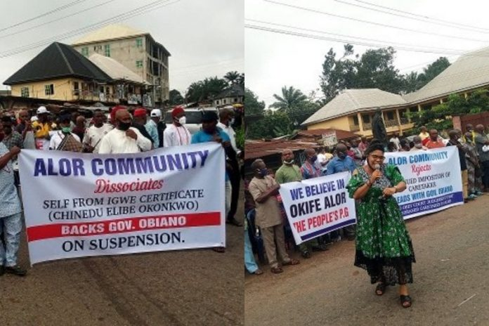 Imo REC Denies Leading Protest Against Anambra Monarch