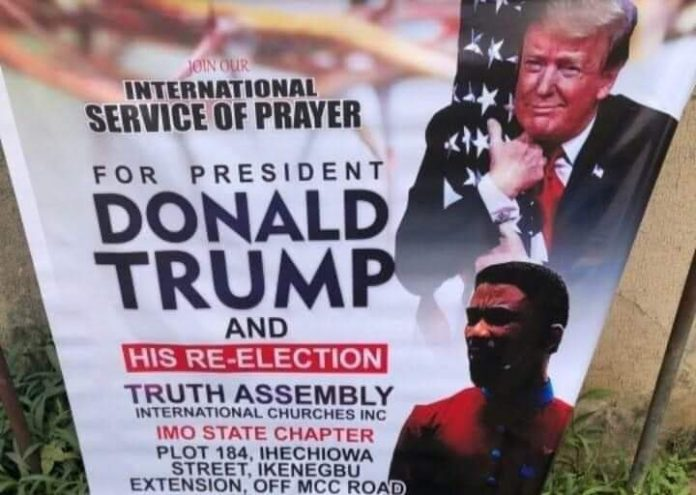 Imo pastor to hold prayer service for Trump's re-election