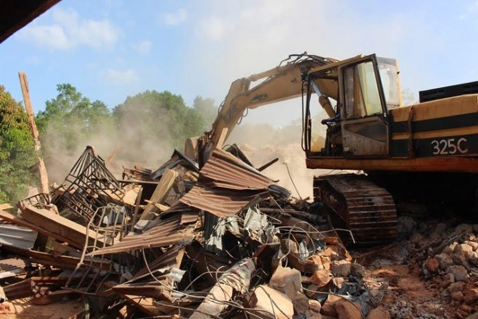 Land Dispute In Anambra Ends With Destruction Of 50 Houses
