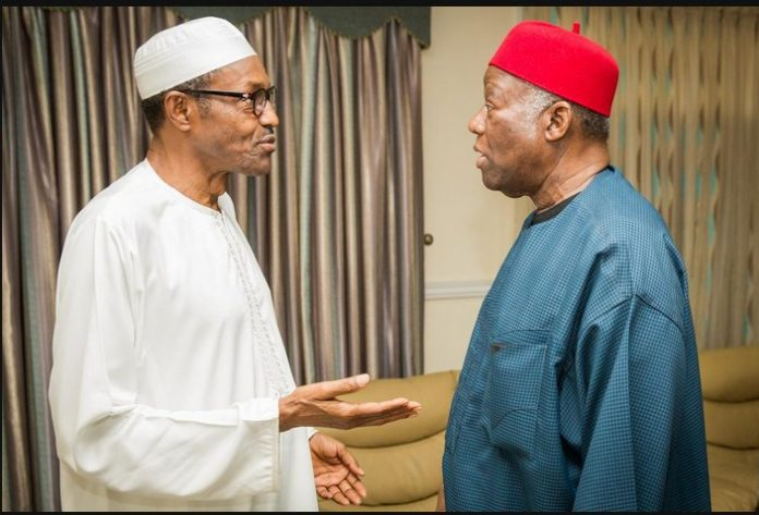 President Buhari Showers Praises On Sen Ike Nwachukwu