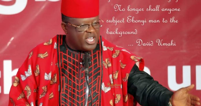 Ohaneze Election: Umahi Free To Support Candidate – Commissioner