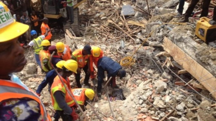 Anambra Seals Off Collapsed 40-Year-Old Building