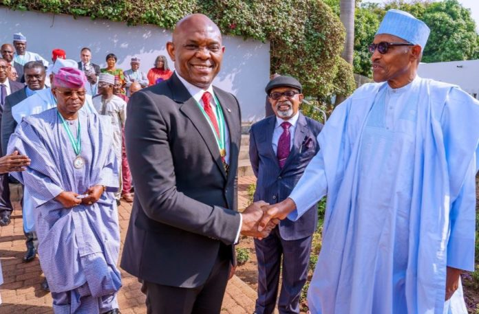 Buhari Reacts As Elumelu Is Named Among World's Most Influential