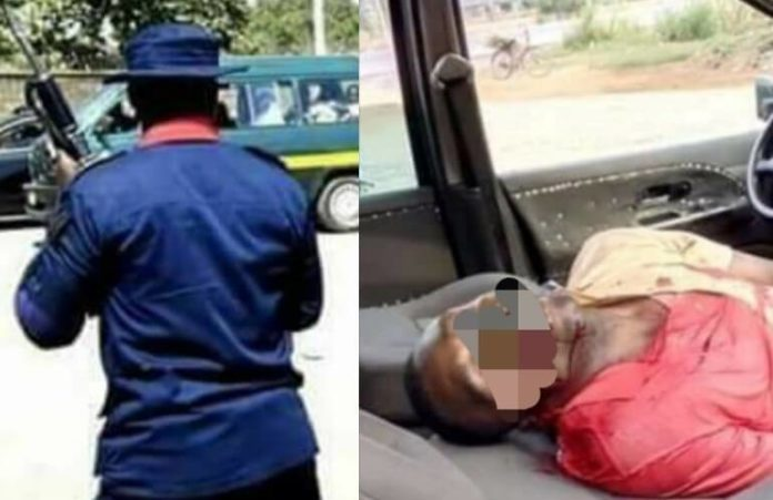Civil Defence Officer Shoots Father Of 3 Dead In Abia (1)