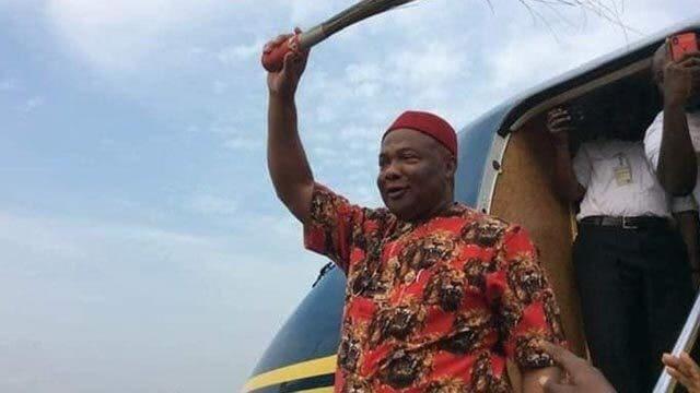 Edo 2020 - Gov Uzodinma In Benin, Mobilises Igbo For APC (1)