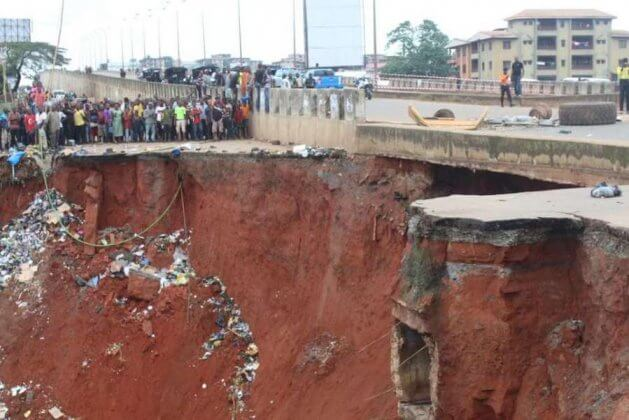 Erosion - Anambra Community Begs For FG's Intervention (1)