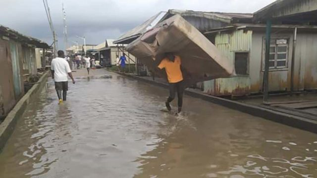 Flood - Reptiles Invade Homes In Anambra Community