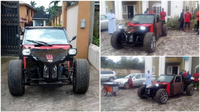 Imo Based Automobile Engineer Unveils New Car