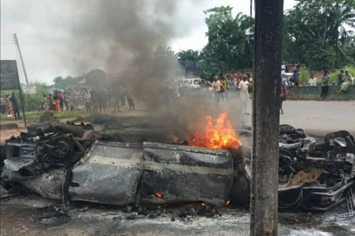 Two More Bodies Recovered From Anambra Burnt Vehicle