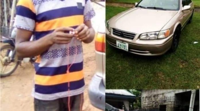 Roadside Mechanic Flees With Customer's Car In Imo State
