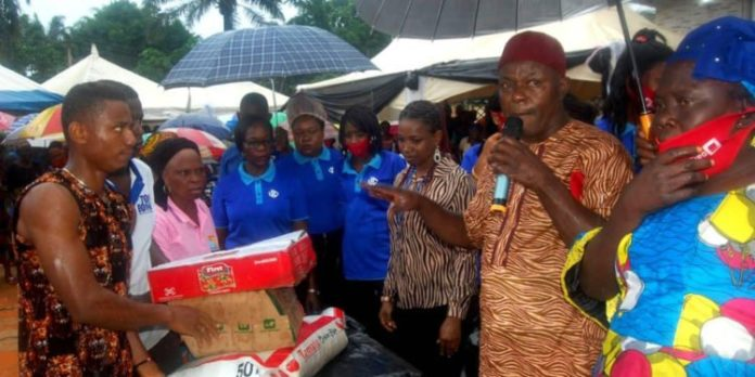 South African bank, foundation lift Anambra community with palliatives