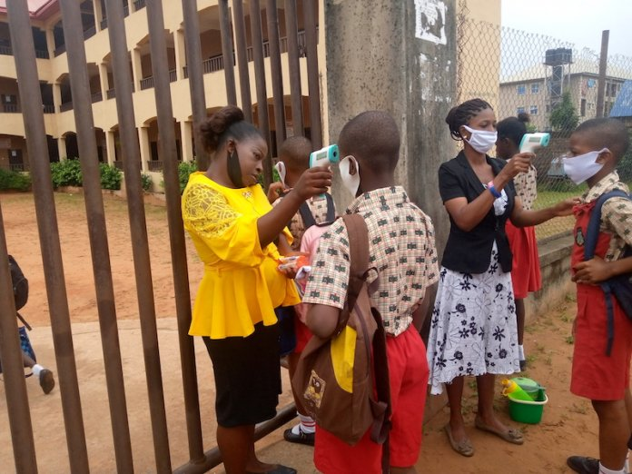 Students Jubilate as Schools Resume in Anambra