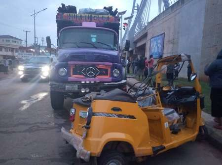 Tipper driver crushes cyclist to death in Anambra