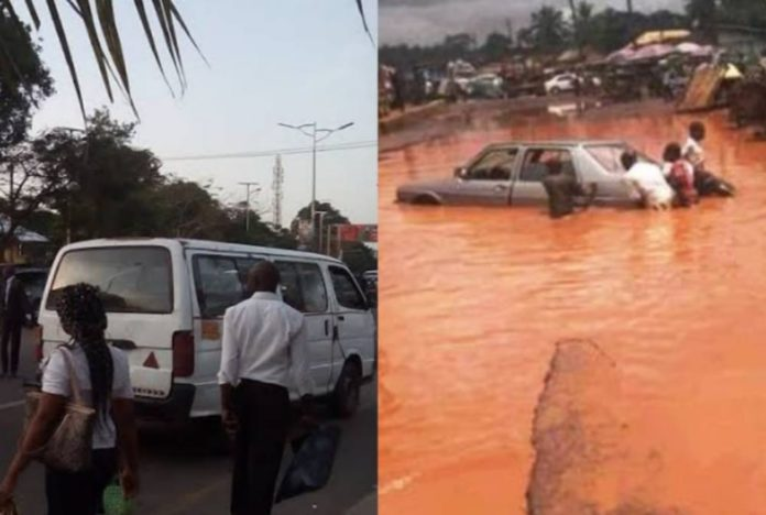 How Uzodinma's Staff Buses Got Ruined By Dilapidated Roads