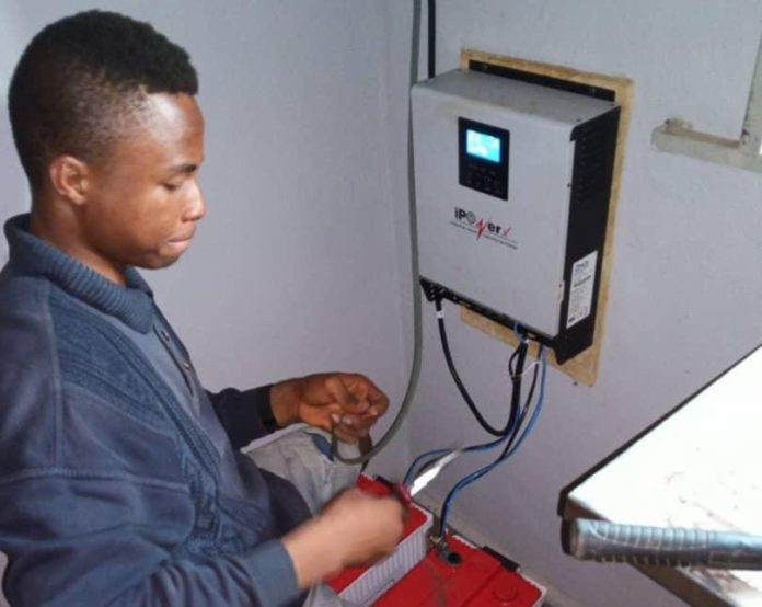 Whizkid From Enugu Constructs Mobile Inverter