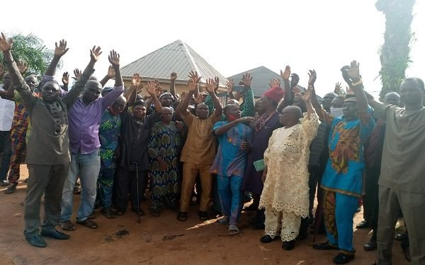 Anambra community protests alleged imposition, threat to lives
