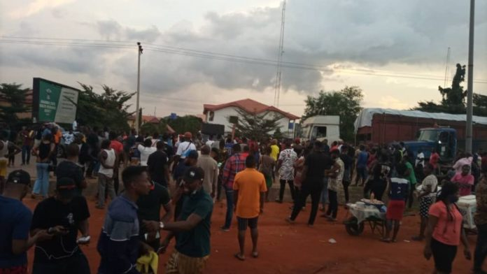 Anambra govt house on lockdown as gov refuses to address protesters