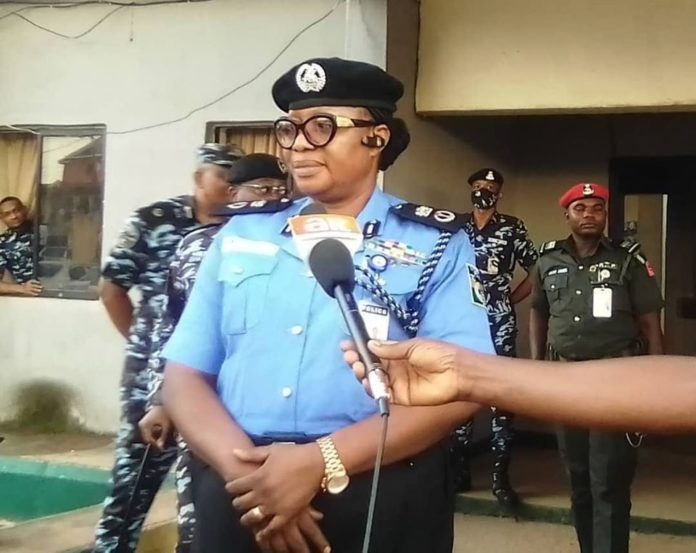 Commissioner of Police, Janet Agbede,