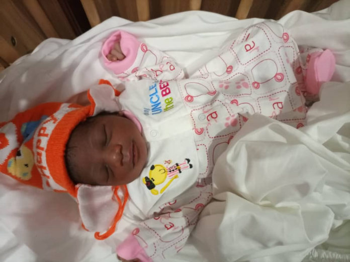 Day-old-baby Abandoned By The Mother In A Gutter Rescued In Anambra