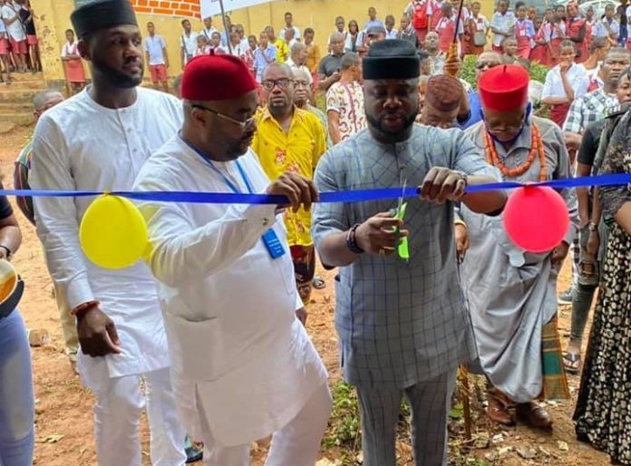 Hon. Philip Ejiogu Commissions New Projects In Nkwerre