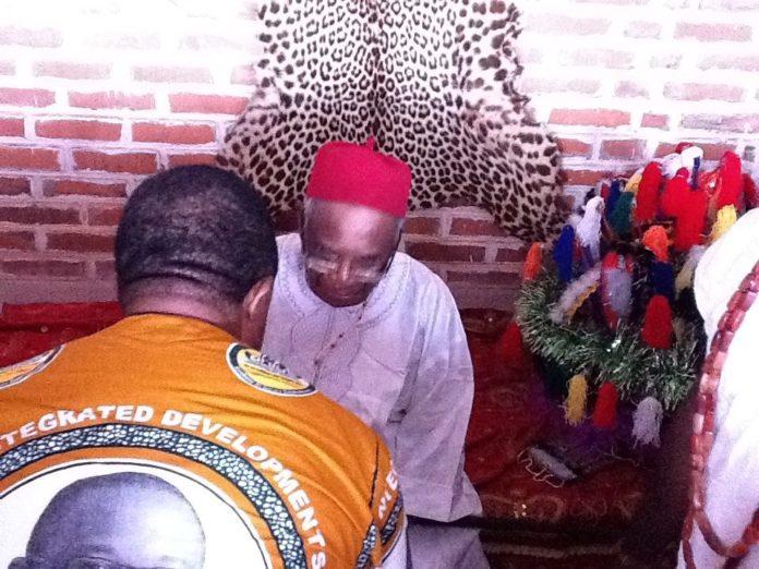 Igwe Achalla, Dr Alex Nwokedi