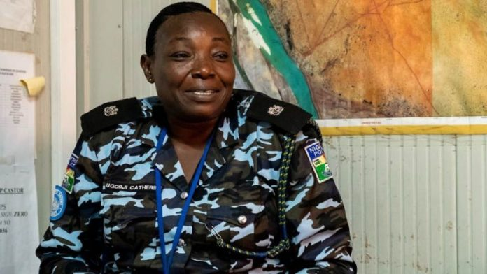 Nigerian policewoman, Catherine Ugorji gets UN recognition