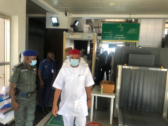 Orji Kalu Fumes As His Jet's Technical Faults Aborts Visit To Maduguri