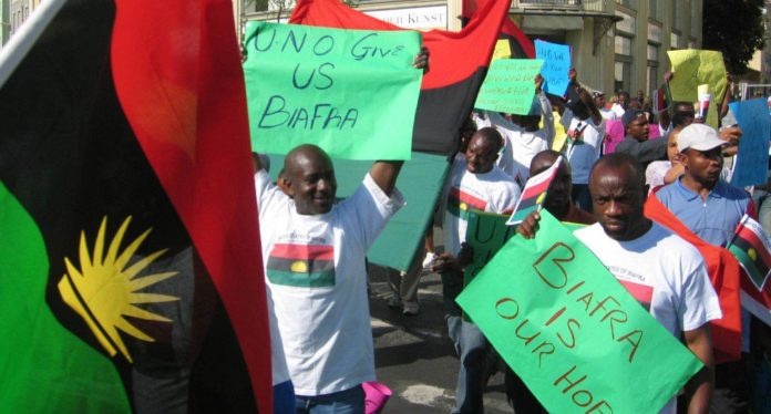Pro-Biafra Group Object To Scrapping Of SARS, Says Nigeria Should Split-Up