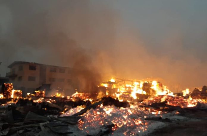 Three Council Headquarters, Market Set Ablaze In Imo State