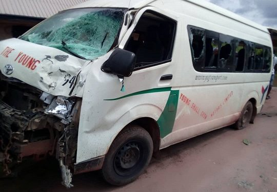 Two killed, two injured as bus crushes motorcycle in Imo