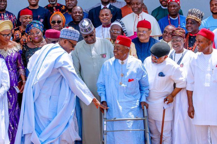 Buhari, South East Govs, Igbo Leaders Meet In Enugu