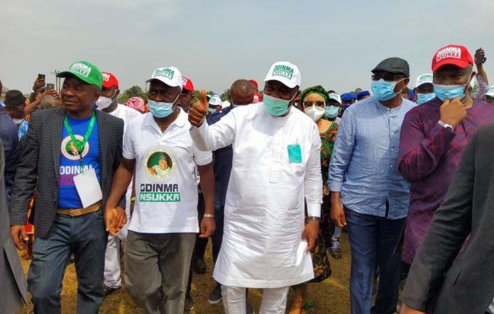 Nsukka Unity Rally - NASS Members, Nwodo, Ayogu Eze Support Ugwuanyi